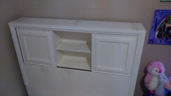 Twin Book Shelf Head Board