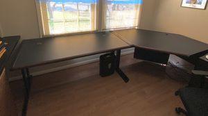 Desk (2 of them) - straight desk and corner desk. Great shape. $100 each or both for $180 for Sale in Rockville, MD