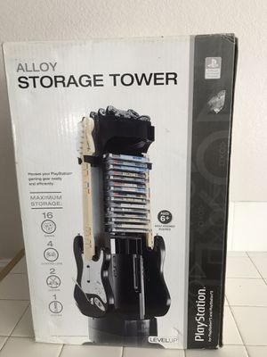 Playstation storage tower for Sale in Perris, CA