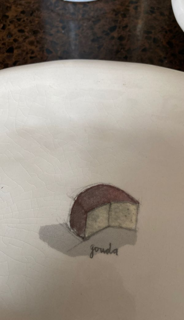 Boutique Cheese Plates- 8 inches wide