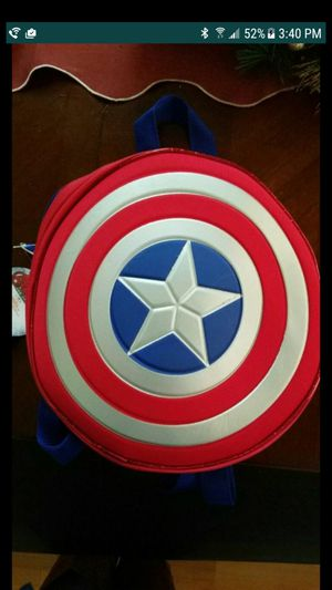 Brand new captain America backpack for Sale in Sacramento, CA