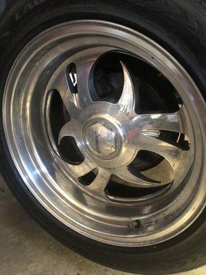 "17"" Budnik wheels for Sale in Sallisaw, OK"