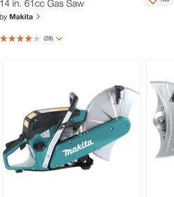 Makita 14 in. 61cc Gas Saw for Sale in Stamford,  CT