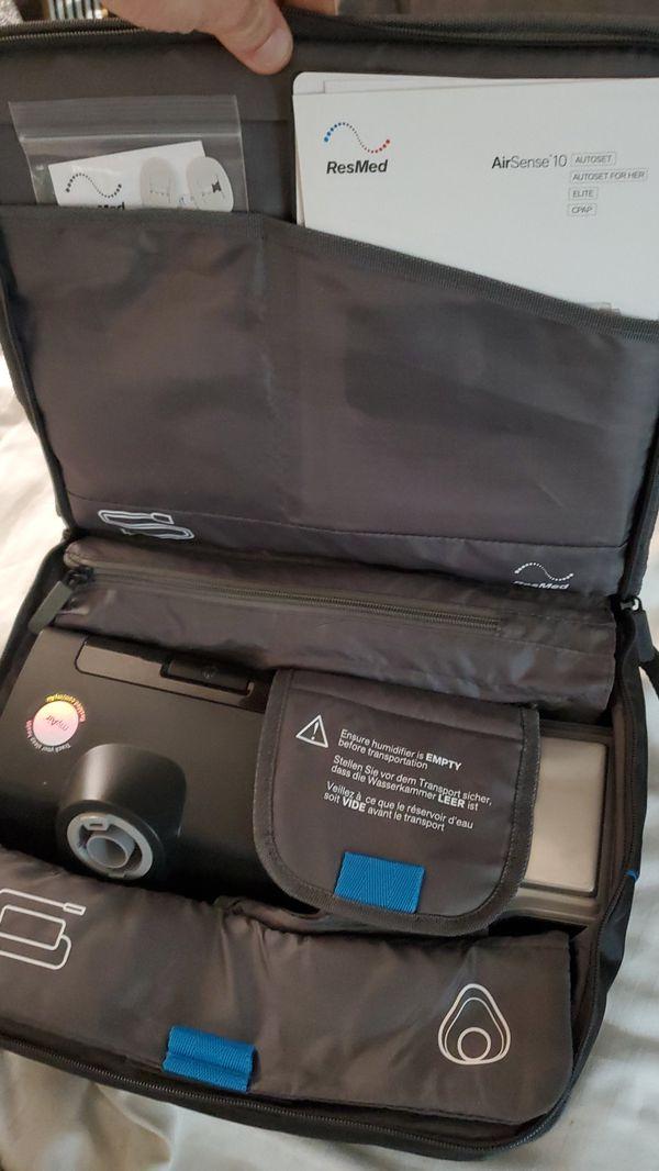 Airsense 10 autoset travel mini CPAP machine