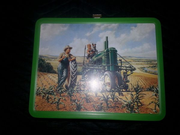 Two John Deere Collector Lunch Boxes