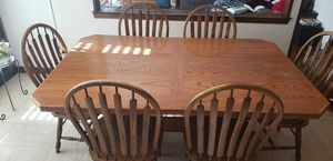 Kitchen table with 6 chairs for Sale in Centreville, VA