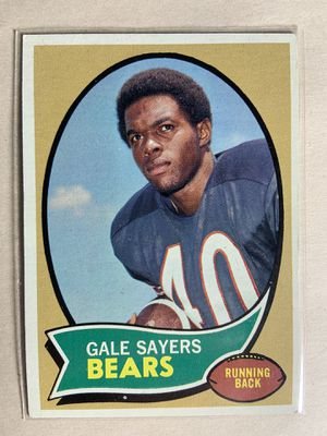 1970 topps vintage gale sayers football card HOF for Sale in Spring Valley, CA