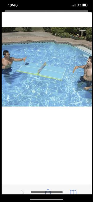 Floating Table Tennis- Brand New for Sale in Davie, FL