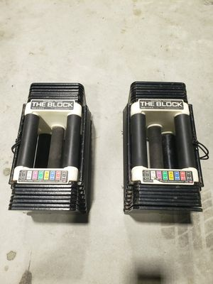 Powerblock dumbbells 5-45 pounds for Sale in Clearwater, FL
