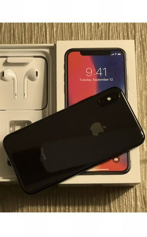New Condition iPhone X iPhone 10 64GB 256GB Silver And Space Gray mississippi dorect rate for Sale in Aventura, FL