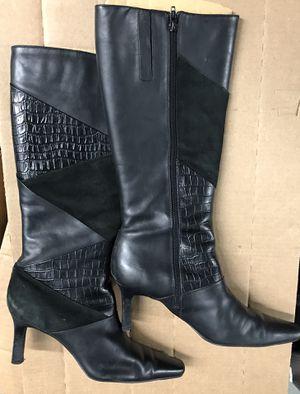 Style & Co. Women's Black Knee Calf Boot for Sale in Lanham, MD