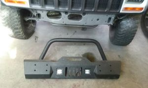 Jeep 08 -new JK front winch Bumper never mounted In Box for Sale in Wenatchee, WA