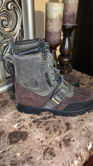 Polo Andres leather boots Sz 10 Men for Sale in Durham, NC