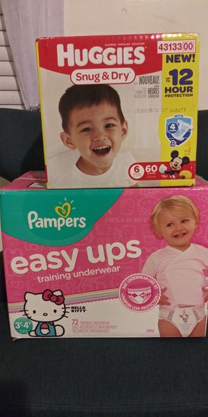 Pampers for Sale in Durham, NC
