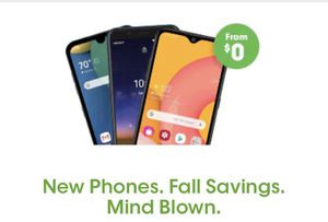 Free phones when you switch carriers for Sale in Dallas, TX