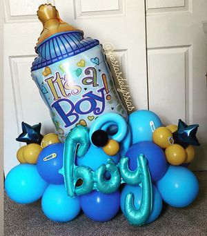 Baby shower/Birth Announcement balloons for Sale in Modesto, CA