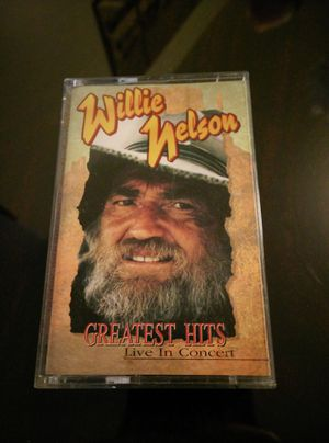 Vintage Willie Nelson Live in Concert Cassette for Sale in Everett, WA