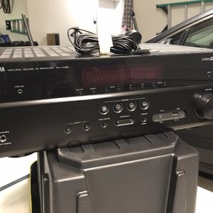 Home Theater Speakers And Av Receiver for Sale in Fort Worth, TX