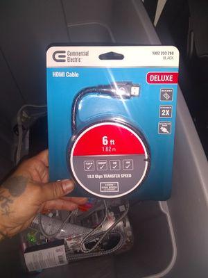 HDMI cord for Sale in Amarillo, TX