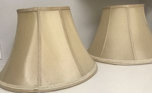 Two Lamp shade for Sale in Rancho Cucamonga, CA