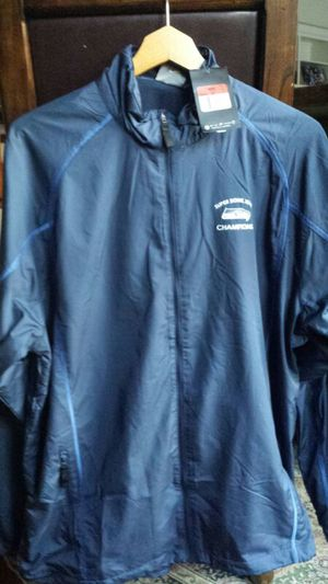 Seattle Seahawks suoerbowl new jacket men's large for Sale in Gig Harbor, WA