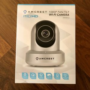 NEW! Amcrest 1080p Surveillance Camera Pan/Tilt for Sale in Gardner, KS