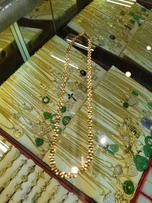 10k real gold Rolex chain 18inches for Sale in Inglewood, CA