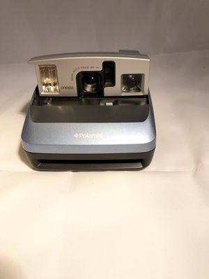 Vintage Blue Polaroid One600 Flash Instant Film Camera for Sale in Paramount, CA