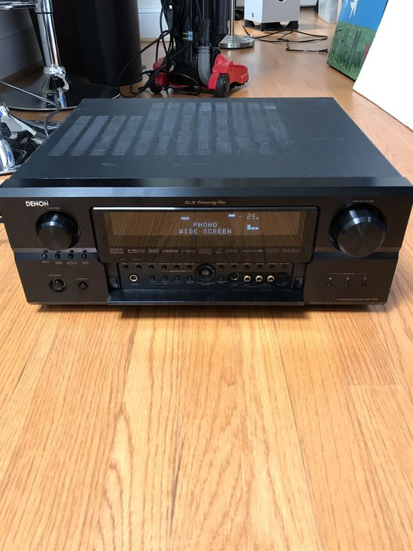 Home Theater set- Denon Avr- 4310CL receiver, 5 energy speakers, Yamaha Subwoofer, and remote