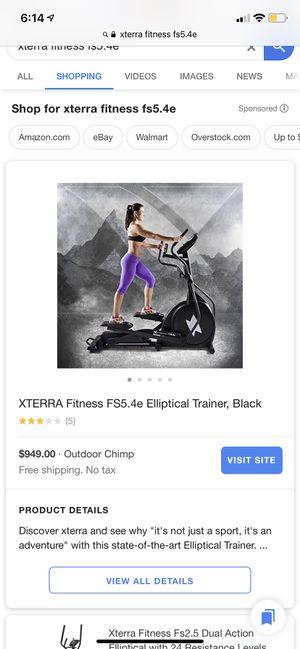 XTERRA FS5.4e Elliptical trainer for Sale in Lake Elsinore, CA