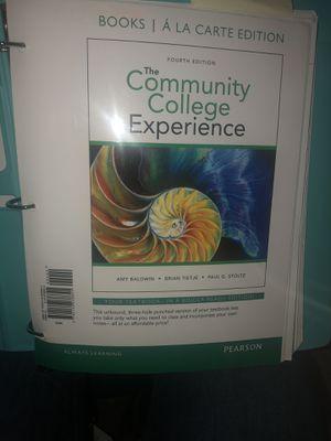 The community college experience for Sale in Murfreesboro, TN