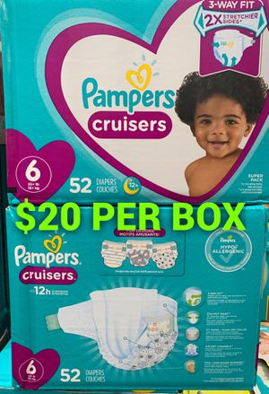 Pampers diapers size 6 for Sale in Long Beach, CA
