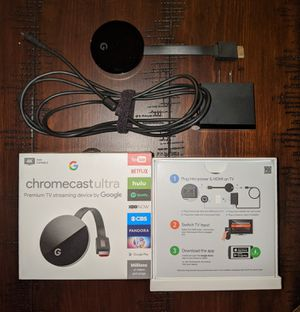 Chromecast Ultra for Sale in Washington, PA