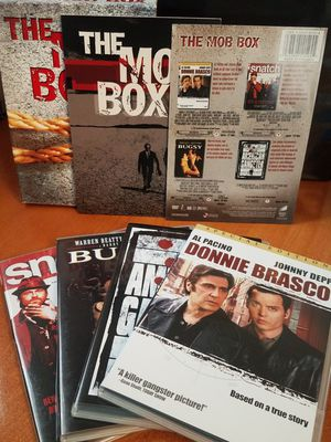 The Mob Box 4 DVD Movie Set Donnie Brasco Snatch Bugsy The American Gangster Lot for Sale in Tampa, FL
