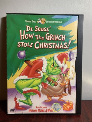 DVD—- Dr. Seuss , How the grinch stole Christmas for Sale in The Bronx, NY
