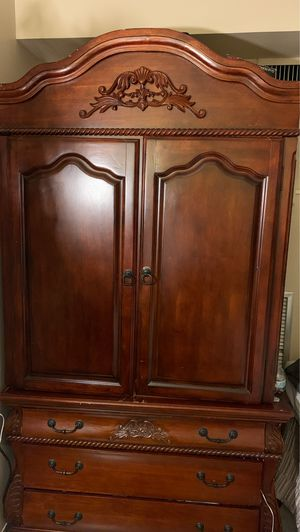 Antique 2 piece closet set cabinet for Sale in Watertown, MA