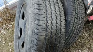 2 brand new tires and wheels for Sale in Cheyenne, WY