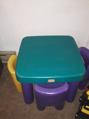 Kids table and 4 chairs for Sale in Kittanning, PA