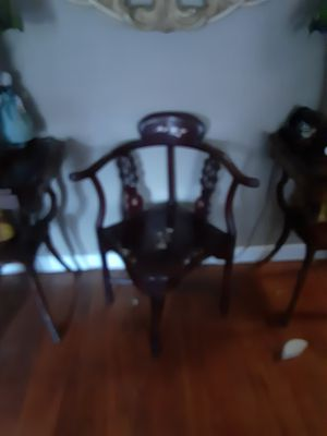 Chinese antique chairs for Sale in North Charleston, SC