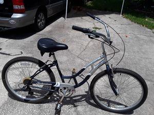 """Schwinn Jaguar 7 speed like new bike with big comfy saddle, 26"""" tires, M frame. $120 FIRM. for Sale in Wesley Chapel, FL"""