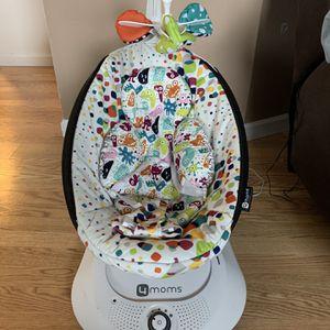 4Mom's RockaRoo Baby Swing w/Infant Insert for Sale in New Kensington, PA