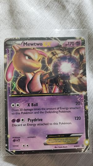 Two different Mewtwo EX good conditions for Sale in Billings, MT