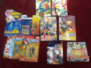 Vintage x men and star wars collectibles 1992-1994 ... $65 takes everything in pictures for Sale in Tampa, FL