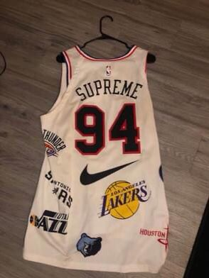 Supreme NBA Jersey for Sale in Austin, TX