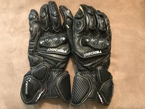 Men's 2XL Teknic Xcelerator motorcycle gloves for Sale in Gainesville, VA