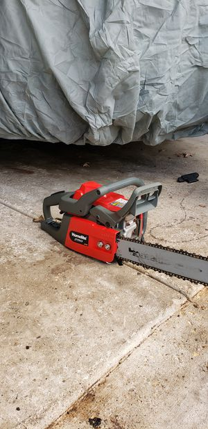 Himelite Chainsaw 40cc, 18 inch. chain / Motosierra Homelite 40cc cadena de 18 pulg. for Sale in South Elgin, IL