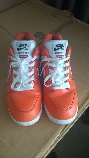 Nike SB Supreme Air Force 2's for Sale in College Park, GA