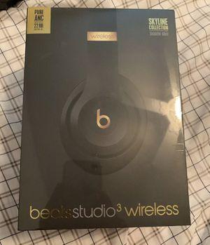 Beats Studio 3 Headphones Shadow Grey for Sale in Fresno, CA