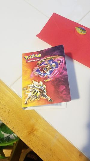 Pokemon card holder many pages for Sale in Lynnwood, WA