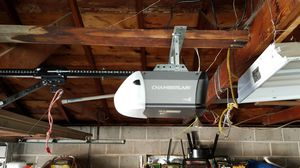 Half horse garage opener with one remote installed for $250 for Sale in West Jordan, UT